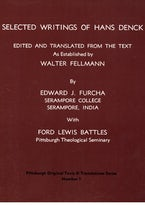 Selected Writings of Hans Denck