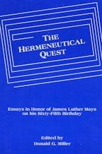 The Hermeneutical Quest