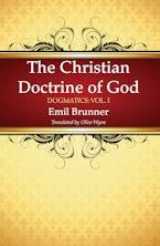 The Christian Doctrine of God