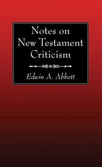 Notes on New Testament Criticism