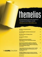 Themelios, Volume 40, Issue 3