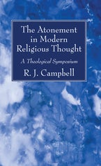 The Atonement in Modern Religious Thought
