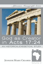 God as Creator in Acts 17:24