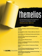 Themelios, Volume 42, Issue 1