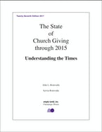 The State of Church Giving through 2015