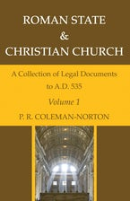 Roman State & Christian Church, Three Volumes
