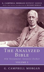 The Analyzed Bible, Volume 1