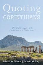 Quoting Corinthians