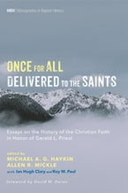 Once for All Delivered to the Saints