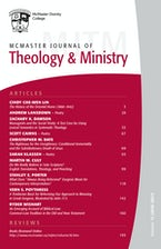McMaster Journal of Theology and Ministry: Volume 18, 2016–2017