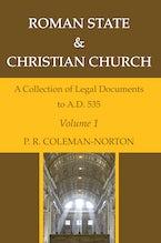 Roman State & Christian Church Volume 1