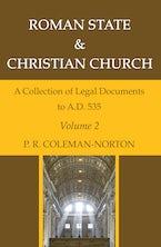 Roman State & Christian Church Volume 2