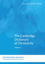 The Cambridge Dictionary of Christianity, Two Volume Set