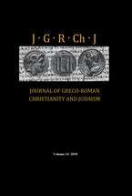 Journal of Greco-Roman Christianity and Judaism, Volume 14