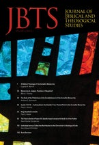 Journal of Biblical and Theological Studies, Issue 4.1