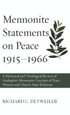Mennonite Statements on Peace 1915–1966