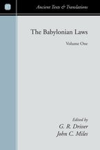 The Babylonian Laws