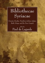 Bibliothecae Syriacae