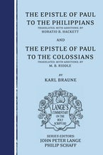 The Epistle of Paul to the Philippians and Colossians