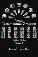 Vetus Testamentum Graecum, Editione Sixtina