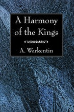 A Harmony of the Kings