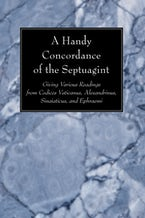A Handy Concordance of the Septuagint
