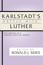 Karlstadt's Battle with Luther