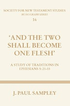 """And the Two Shall Become One Flesh"""