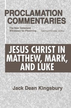 Jesus Christ in Matthew, Mark, and Luke