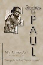 Studies in Paul