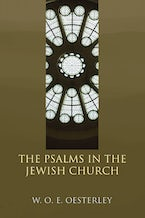 The Psalms in the Jewish Church