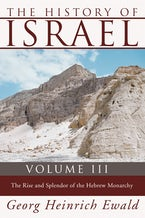 The History of Israel, Volume 3
