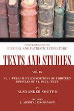 Pelagius's Expositions of Thirteen Epistles of St. Paul. II