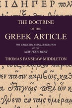 The Doctrine of the Greek Article