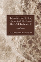 Introduction to the Canonical Books of the Old Testament