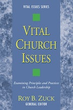 Vital Church Issues