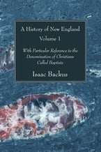 A History of New England, 2 Volumes