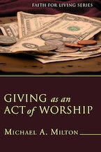 Giving as an Act of Worship (Stapled Booklet)