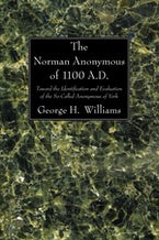 The Norman Anonymous of 1100 A.D.