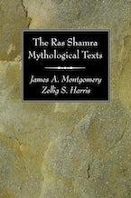 The Ras Shamra Mythological Texts