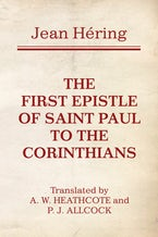 The First Epistle of Saint Paul to the Corinthians