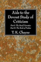 Aids to the Devout Study of Criticism
