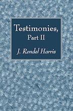 Testimonies, Part II