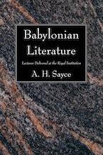 Babylonian Literature