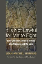 It Is Not Lawful for Me to Fight