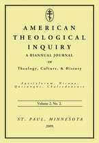 American Theological Inquiry, Volume Two, Issue Two