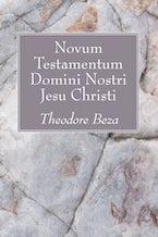 Novum Testamentum Domini Nostri Jesu Chrisi