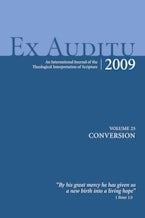 Ex Auditu - Volume 25