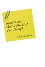 What's On God's Sin List for Today?