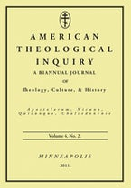 American Theological Inquiry, Volume Four, Issue Two